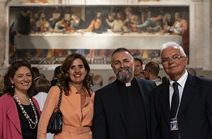 Francesca Miserocchi e Don Stefano Savoia